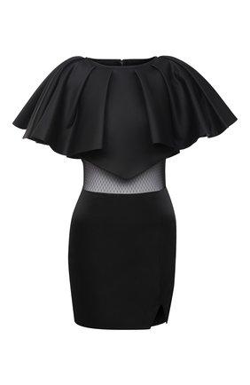 Женское платье KALMANOVICH черного цвета, арт. FW20K04   Фото 1