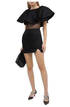 Женское платье KALMANOVICH черного цвета, арт. FW20K04   Фото 2