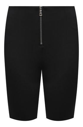 Женские шорты RTA черного цвета, арт. WU0425-3011BLK | Фото 1