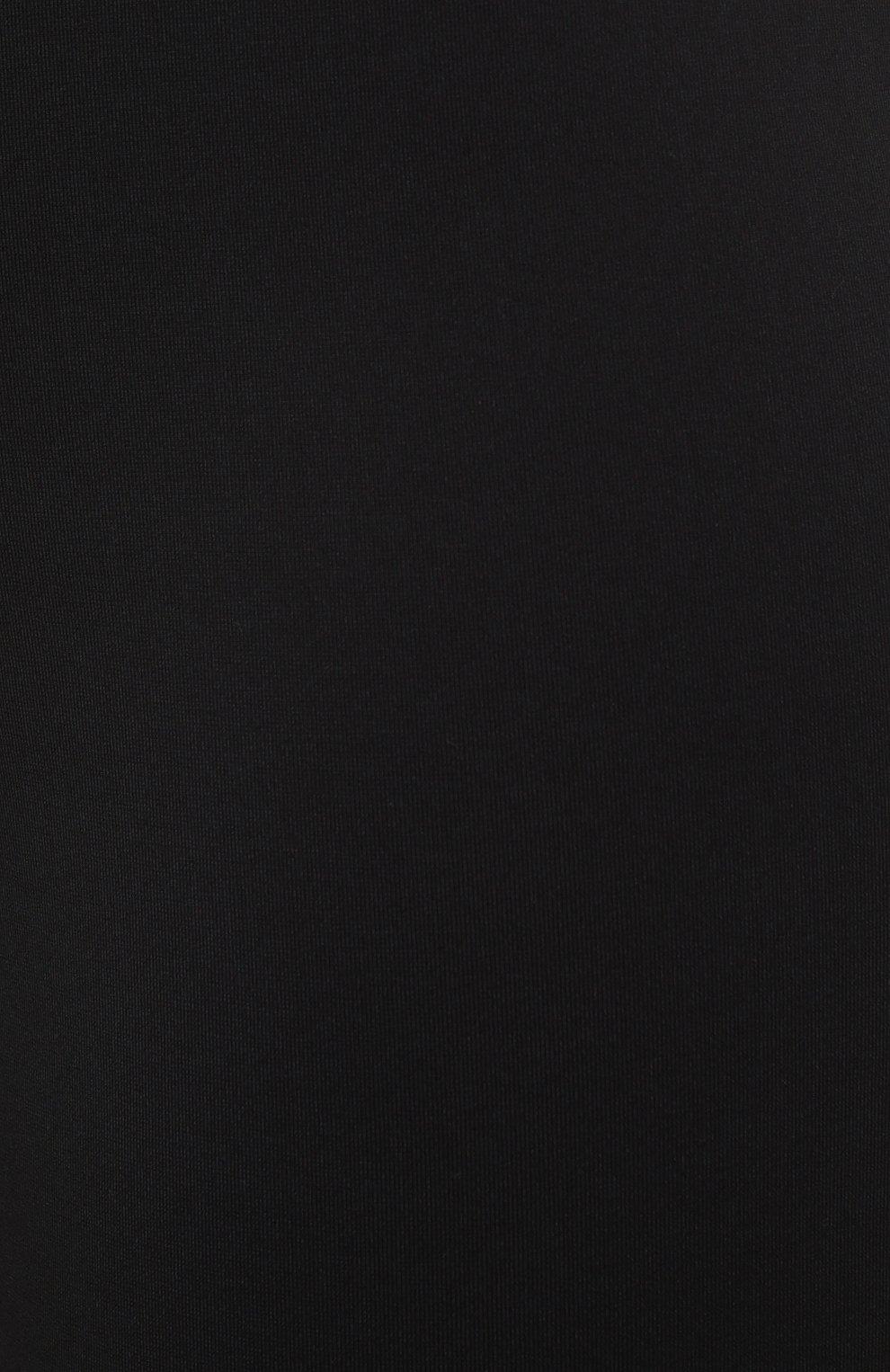 Женские шорты RTA черного цвета, арт. WU0425-3011BLK | Фото 5 (Женское Кросс-КТ: Шорты-одежда; Длина Ж (юбки, платья, шорты): Мини; Материал внешний: Синтетический материал; Стили: Спорт-шик)