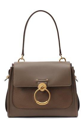 Женская сумка tess CHLOÉ коричневого цвета, арт. CHC20WS142D32 | Фото 1