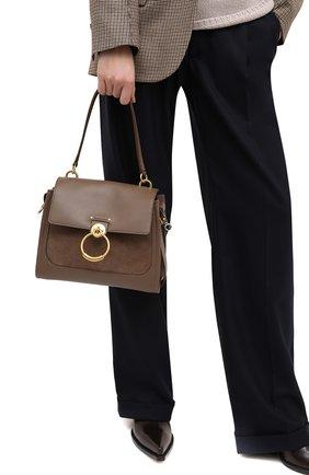 Женская сумка tess CHLOÉ коричневого цвета, арт. CHC20WS142D32 | Фото 2
