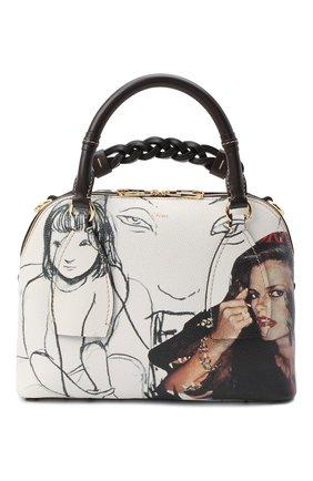 Женская сумка daria CHLOÉ белого цвета, арт. CHC20WS360D56 | Фото 1
