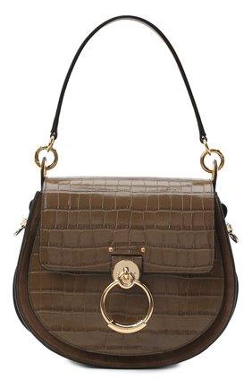 Женская сумка tess CHLOÉ хаки цвета, арт. CHC20WS152A87 | Фото 1