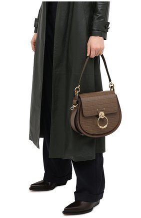 Женская сумка tess CHLOÉ хаки цвета, арт. CHC20WS152A87 | Фото 2