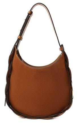 Женская сумка darryl CHLOÉ коричневого цвета, арт. CHC20WS342D43   Фото 1