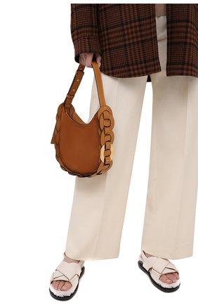 Женская сумка darryl CHLOÉ коричневого цвета, арт. CHC20WS342D43   Фото 2