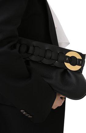 Женский клатч darryl CHLOÉ черного цвета, арт. CHC20WS343D71 | Фото 2