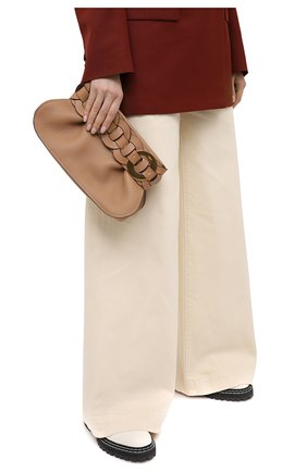 Женский клатч darryl CHLOÉ бежевого цвета, арт. CHC20WS343D71 | Фото 2