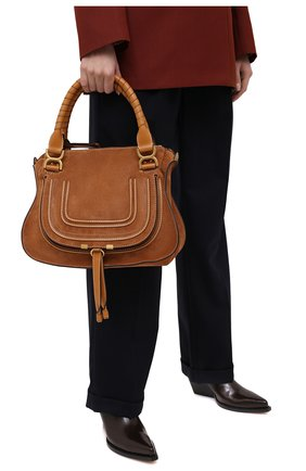 Женская сумка marcie CHLOÉ коричневого цвета, арт. CHC20WS860D41 | Фото 2