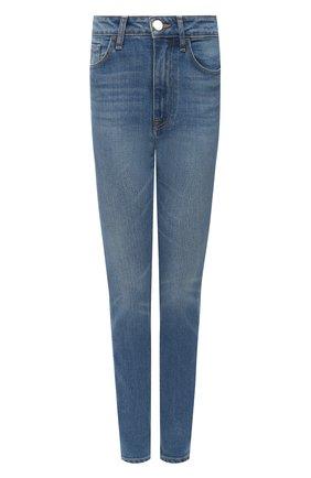 Женские джинсы BRANDON MAXWELL синего цвета, арт. PT163SS20 | Фото 1