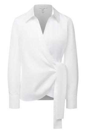 Женская хлопковая рубашка ESCADA SPORT белого цвета, арт. 5034457 | Фото 1