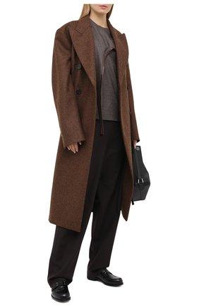 Женская шерстяной топ STELLA MCCARTNEY коричневого цвета, арт. 602407/SNB53 | Фото 2