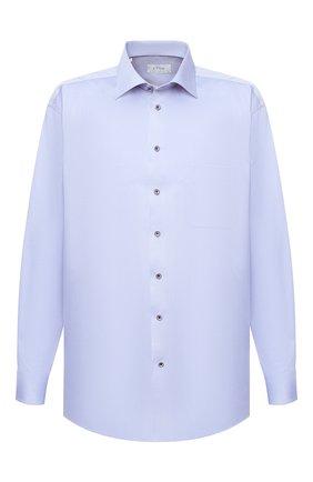 Мужская хлопковая сорочка ETON голубого цвета, арт. 1000 01391 | Фото 1 (Рукава: Длинные; Материал внешний: Хлопок; Случай: Формальный; Рубашки М: Classic Fit; Big sizes: Big Sizes; Стили: Классический)