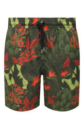 Мужские плавки-шорты DEREK ROSE зеленого цвета, арт. 9761-MAUI031 | Фото 1