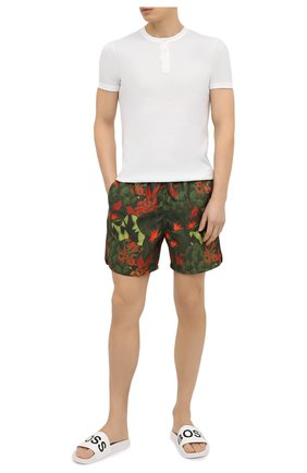 Мужские плавки-шорты DEREK ROSE зеленого цвета, арт. 9761-MAUI031 | Фото 2