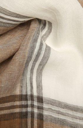 Шарф из льна и шелка | Фото №2