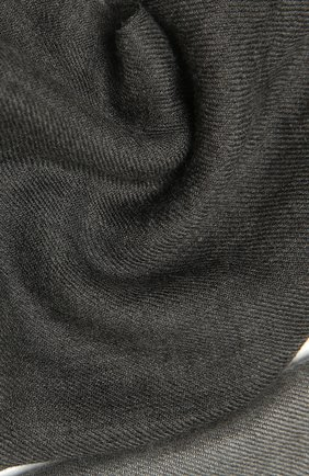 Мужской шарф из кашемира и шелка BRUNELLO CUCINELLI серого цвета, арт. MSC606AV | Фото 2