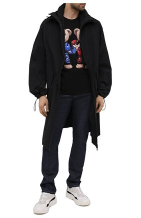 Мужская хлопковая футболка DOMREBEL черного цвета, арт. STYLE 03/T-SHIRT | Фото 2