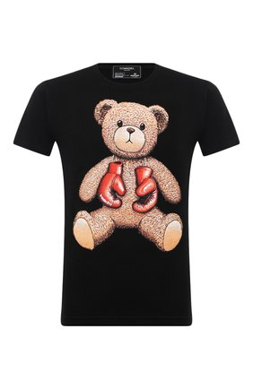 Мужская хлопковая футболка DOMREBEL черного цвета, арт. STYLE 08/T-SHIRT | Фото 1