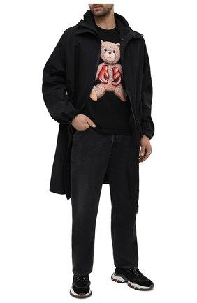 Мужская хлопковая футболка DOMREBEL черного цвета, арт. STYLE 08/T-SHIRT | Фото 2