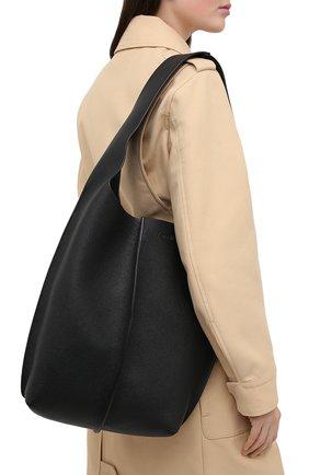 Женский сумка-шопер ACNE STUDIOS черного цвета, арт. A10098 | Фото 2