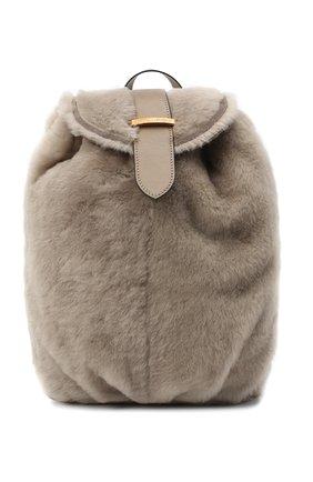 Женский рюкзак BRUNELLO CUCINELLI бежевого цвета, арт. MBFKD2200 | Фото 1