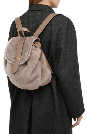 Женский рюкзак BRUNELLO CUCINELLI бежевого цвета, арт. MBFKD2200 | Фото 2