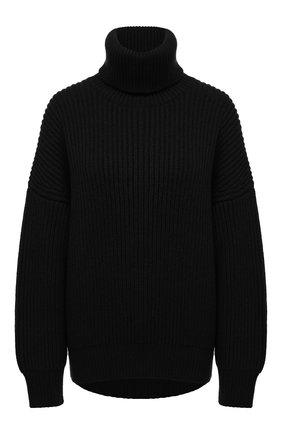 Женская кашемировый свитер DOLCE & GABBANA черного цвета, арт. FX912T/JAW3X | Фото 1