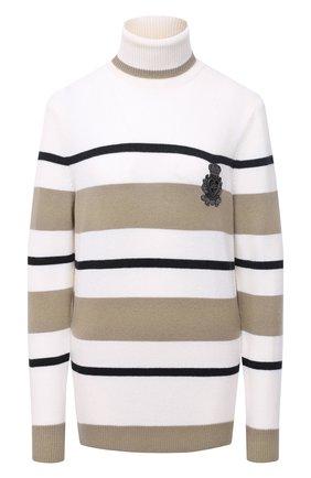 Женский шерстяной свитер DOLCE & GABBANA разноцветного цвета, арт. FX197Z/JAVWC | Фото 1
