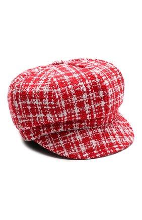 Женская кепка DOLCE & GABBANA красного цвета, арт. FH505A/FMMFR | Фото 1
