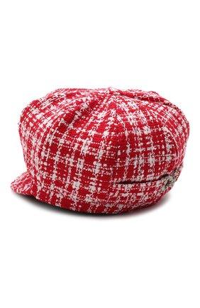 Женская кепка DOLCE & GABBANA красного цвета, арт. FH505A/FMMFR | Фото 2