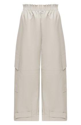 Женские брюки из вискозы STELLA MCCARTNEY светло-серого цвета, арт. 601969/SKB20 | Фото 1