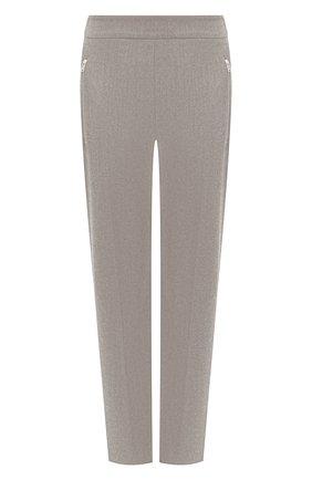 Женские шерстяные брюки STELLA MCCARTNEY серого цвета, арт. 601806/SNB53 | Фото 1