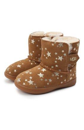 Детские угги keelan stars UGG коричневого цвета, арт. 1115840T_CHE   Фото 1