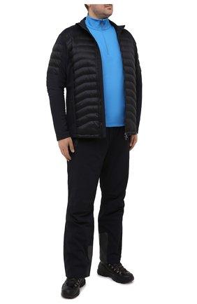 Мужской джемпер BOGNER синего цвета, арт. 51025952 | Фото 2 (Длина (для топов): Удлиненные; Материал внешний: Синтетический материал; Рукава: Длинные; Мужское Кросс-КТ: Джемперы; Принт: С принтом; Стили: Спорт-шик; Big sizes: Big Sizes; Вырез: Круглый)