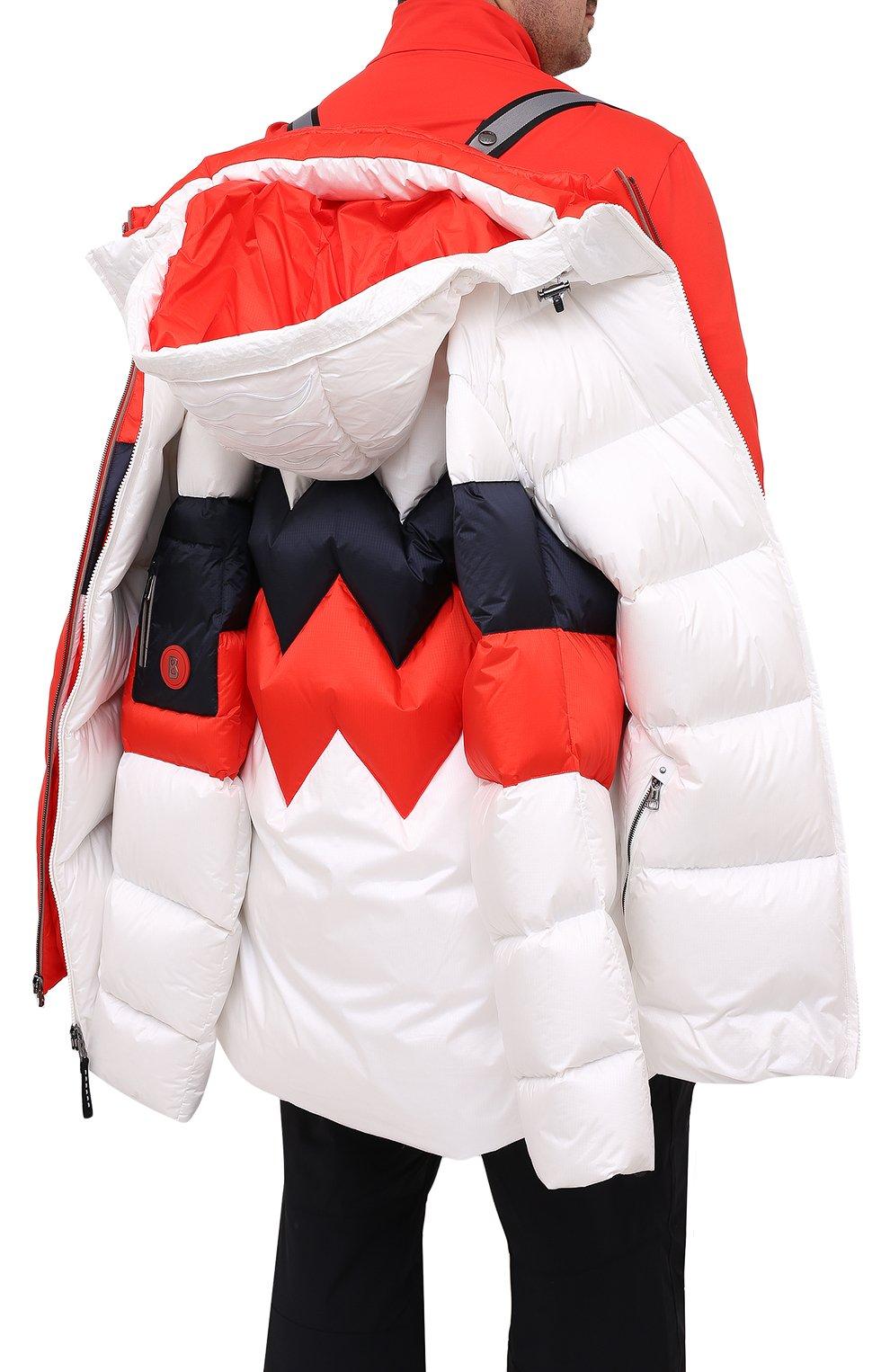 Мужская пуховая куртка BOGNER белого цвета, арт. 31024253 | Фото 6