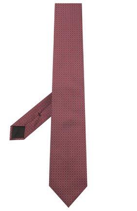 Мужской шелковый галстук BOSS бордового цвета, арт. 50447032 | Фото 2