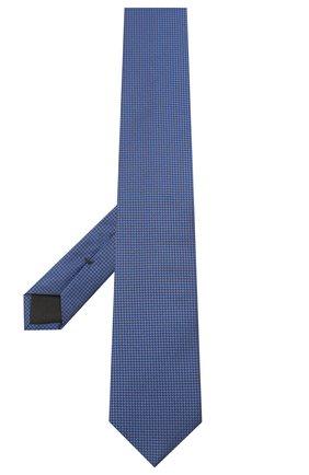 Мужской шелковый галстук BOSS синего цвета, арт. 50446842 | Фото 2