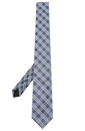 Мужской шелковый галстук BOSS синего цвета, арт. 50447028 | Фото 2