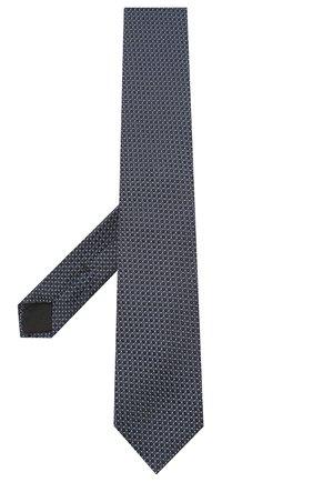 Мужской шелковый галстук BOSS синего цвета, арт. 50447063 | Фото 2