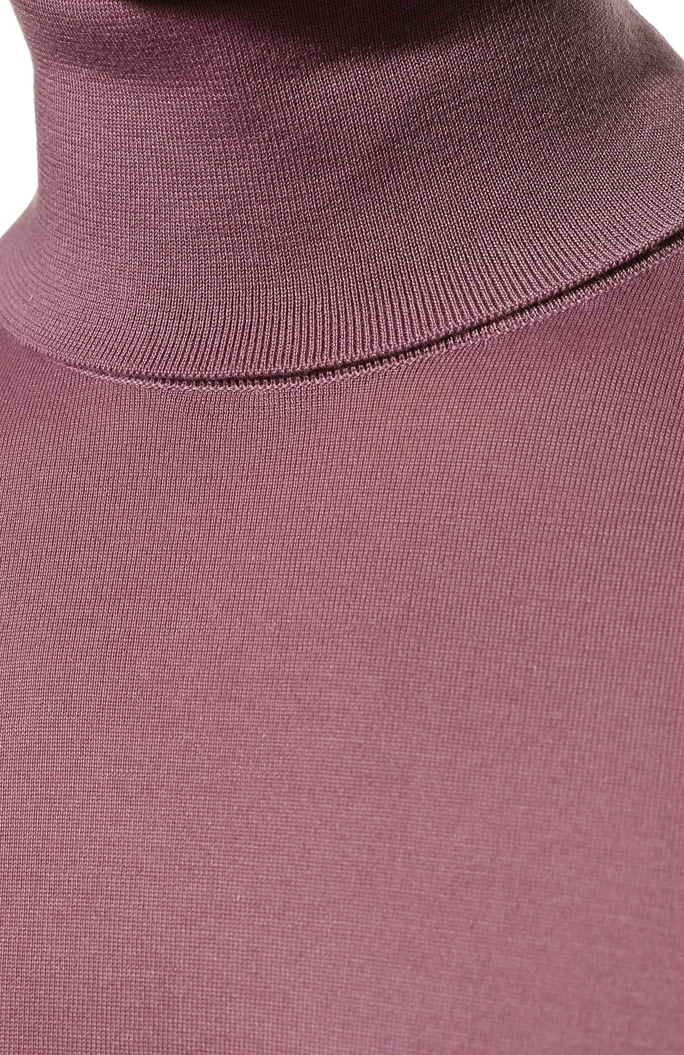 Мужской кашемировая водолазка DOLCE & GABBANA розового цвета, арт. GXB00T/JAW20   Фото 5 (Материал внешний: Шерсть, Кашемир; Рукава: Длинные; Принт: Без принта; Длина (для топов): Стандартные; Мужское Кросс-КТ: Водолазка-одежда; Стили: Кэжуэл)