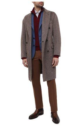 Мужской шерстяной пиджак DOLCE & GABBANA синего цвета, арт. G2NS9T/HUMJR   Фото 2