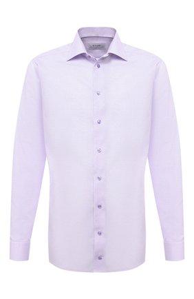 Мужская хлопковая сорочка ETON сиреневого цвета, арт. 1000 01768 | Фото 1