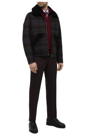 Мужские кожаные ботинки CAMERLENGO черного цвета, арт. M15584CAINE714 | Фото 2