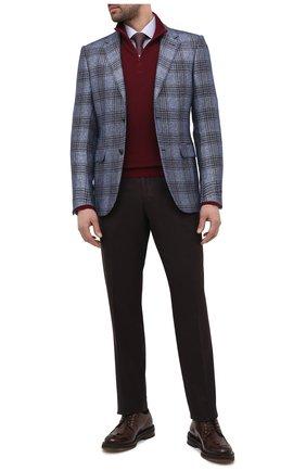Мужской кожаные дерби CAMERLENGO темно-коричневого цвета, арт. M15700MURTM724 | Фото 2