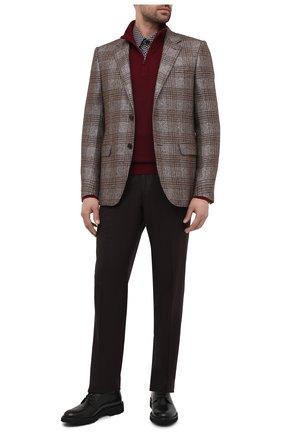 Мужские кожаные дерби CAMERLENGO черного цвета, арт. Z15588MURNE724 | Фото 2