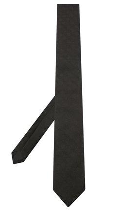 Мужской шелковый галстук DOLCE & GABBANA черного цвета, арт. GT149E/G0JNM | Фото 2