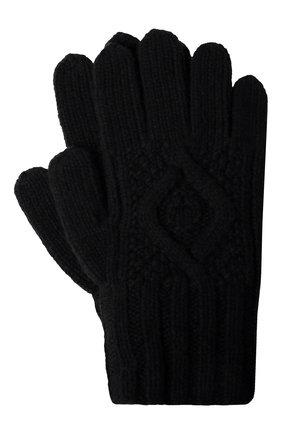 Мужские кашемировые перчатки RALPH LAUREN черного цвета, арт. 790826835 | Фото 1
