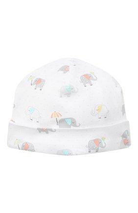 Детского хлопковая шапка KISSY KISSY разноцветного цвета, арт. KN504644N | Фото 1